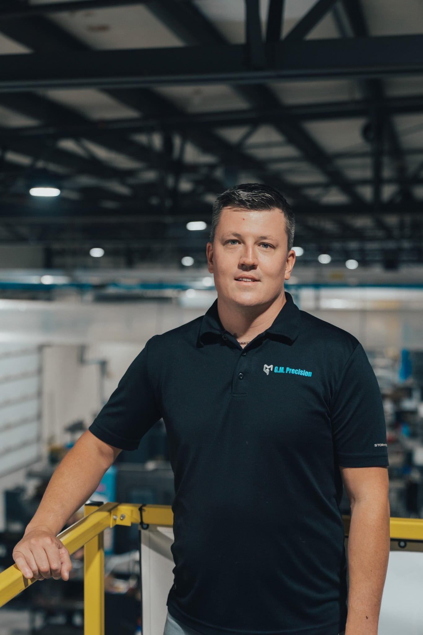 Martin Proteau V.-P. Directeur d'usine & Planificateur dans l'usine