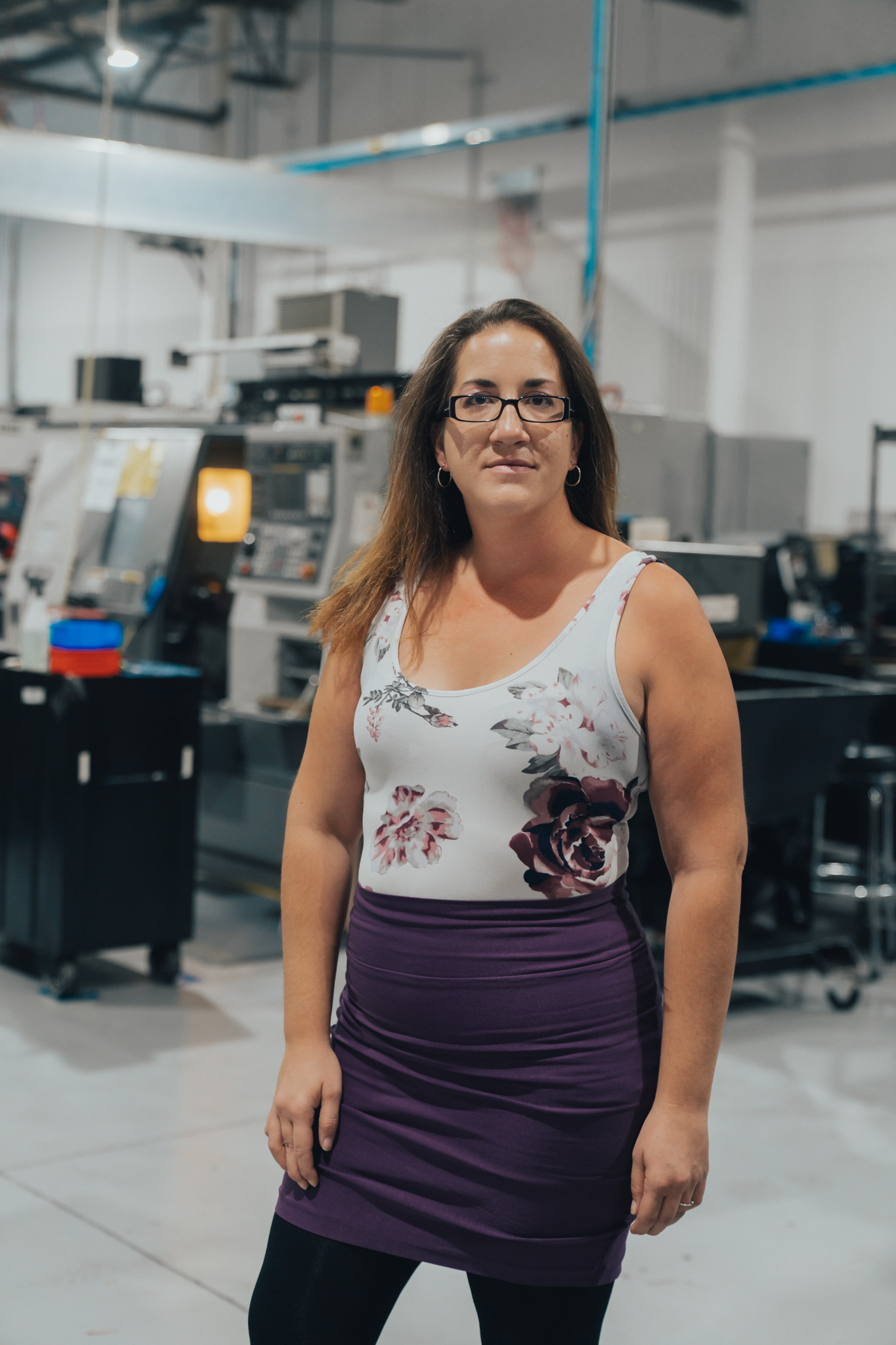 Isabelle Grandbois Adjointe administrative dans l'usine